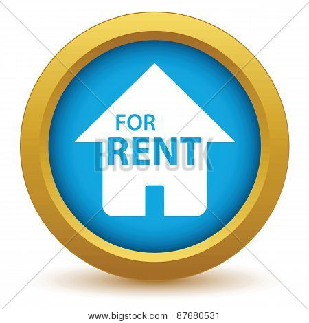 Gold for rent icon