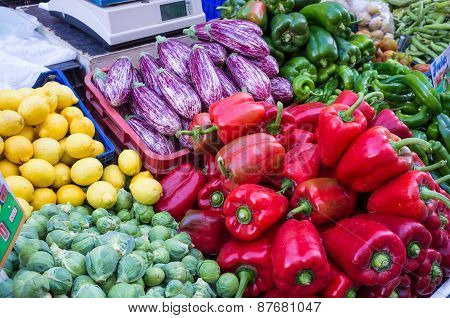 Produce On Street Market