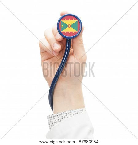 Stethoscope With National Flag Series - Grenada