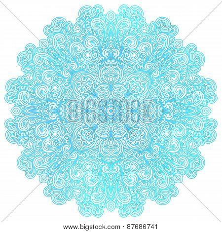 Round Indian Pattern