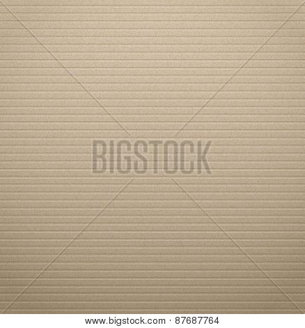 Texture of cardboard with the striped pattern