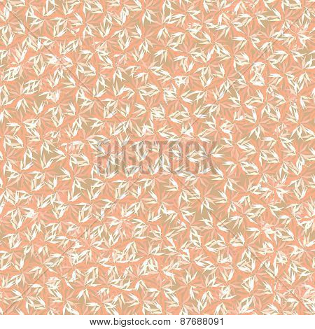 Abstract Pastel Pink Floral Pattern