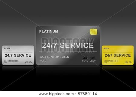 24 Hours A Day, 7 Days A Week Service Platinum Card