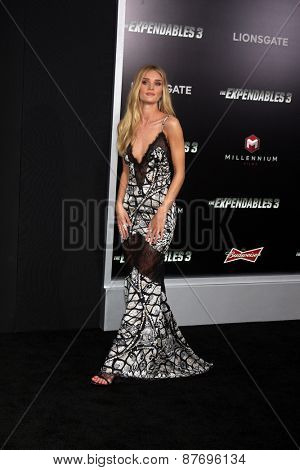 LOS ANGELES - AUG 11:  Rosie Huntington-Whiteley at the