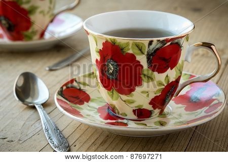 Tea In Vintage Teacup