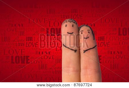 Romantic Fingers Fall In Love