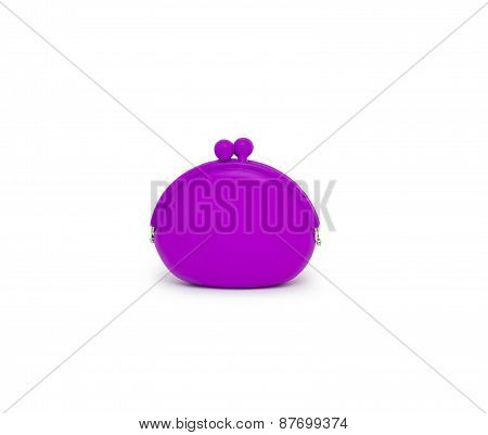 Purse Isolated On White Background Cutout