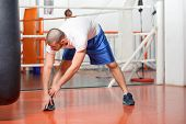 picture of boxing ring  - Boxing training - JPG