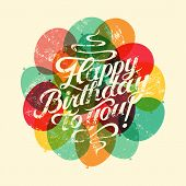 picture of happy birthday card  - Happy Birthday to you - JPG