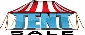 stock photo of tent  - 3D Advertising  - JPG