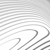 image of twist  - Design monochrome waving lines background - JPG