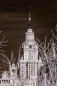 stock photo of gory  - University at Moscow Russia  - JPG