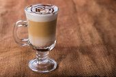 foto of cup coffee  - A cup of coffee on the table - JPG