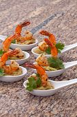 Spicy Shrimps Guacamole poster