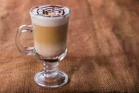 picture of brew  - A cup of coffee on the table - JPG
