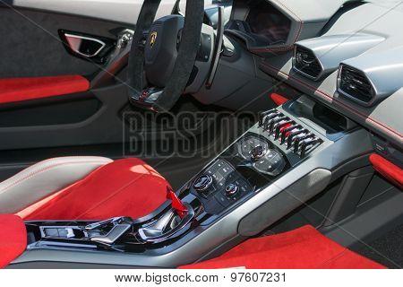 Lamborghini Interior Details