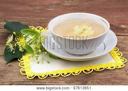 Herbal Medicine: Tea With Linden Flowers
