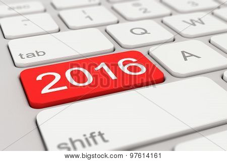 Keyboard - 2016 - Red