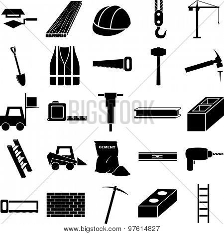 construction symbols set