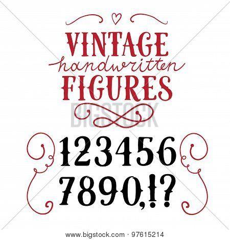 Vintage  Vector Figures