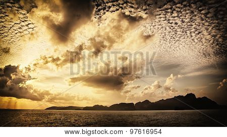 Dramatic Seascape