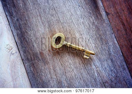 Vintage Golden Keys