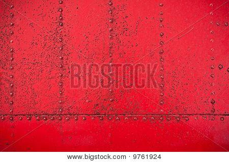 Red Rivet Background