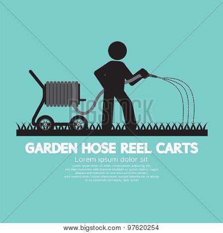 Garden Hose Reel Carts.