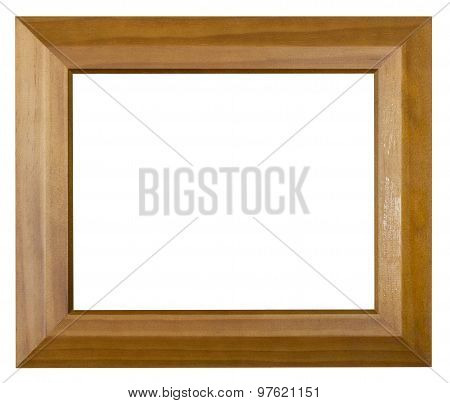 Modern Brown Wide Wooden Picture Frame