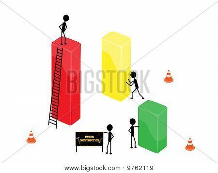 Diagrama de edifício comercial