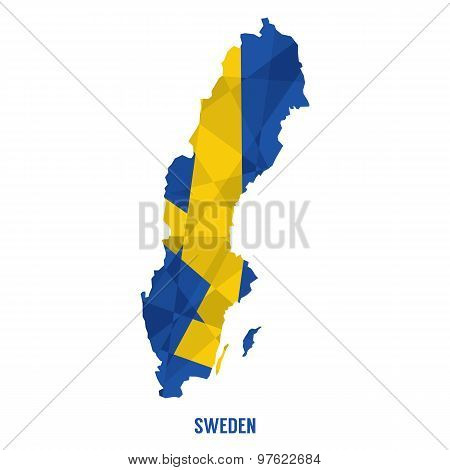 Map Of Sweden.