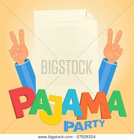 Pajama Party Concept