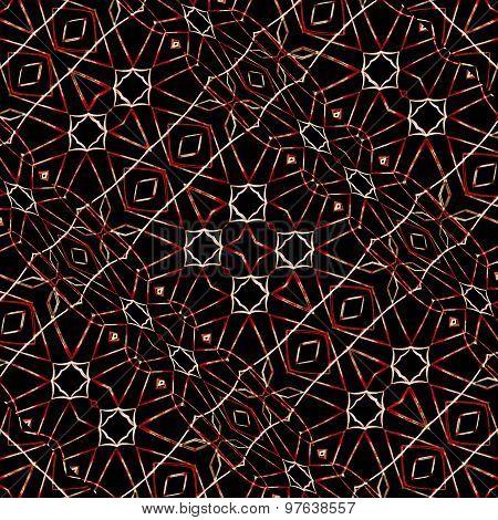 Modern Ethnic Geometric Pattern