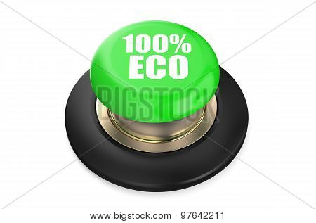 100 Percent Eco Green Pushbutton