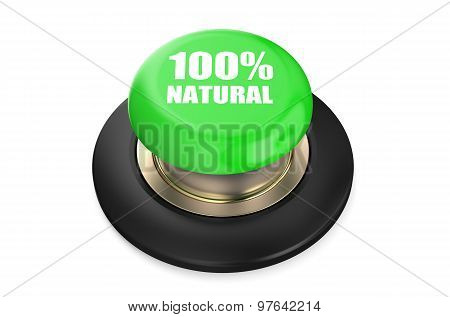 100 Percent Natural Green Pushbutton