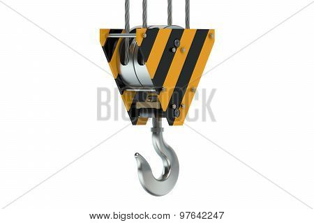 Crane Hook Closeup