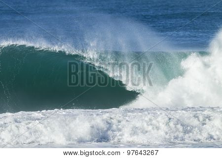 Wave Crashing Reef
