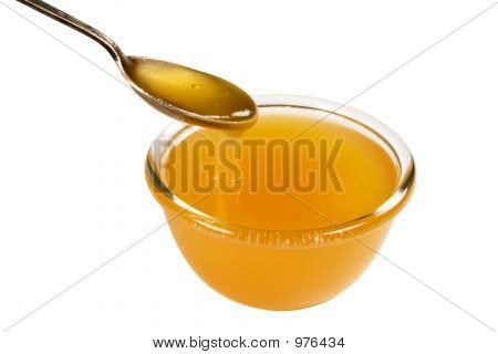 Cup And Spoonful Of Honey