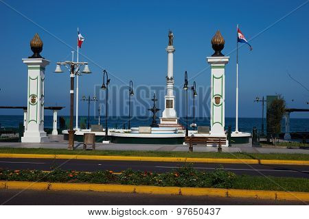 Croatian Monument in Iquique