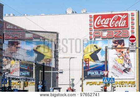 Pixels And Mission Impossible Movies Billboards 2