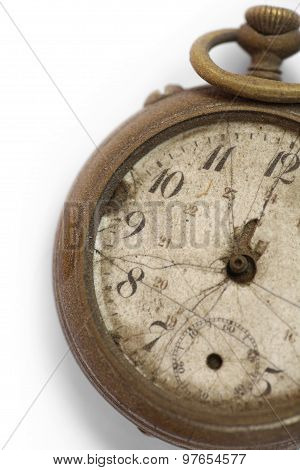 Broken Vintage Pocket Watch