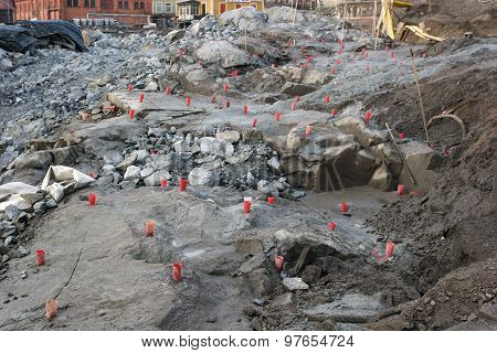 Sweden - Stockholm - construction