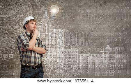 Builder has an idea