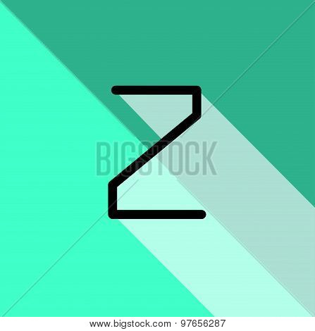 Abstract creative font
