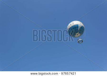 hot air ballloon, highflyer (hiflyer), berlin