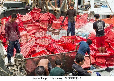 Burmese Fishermen
