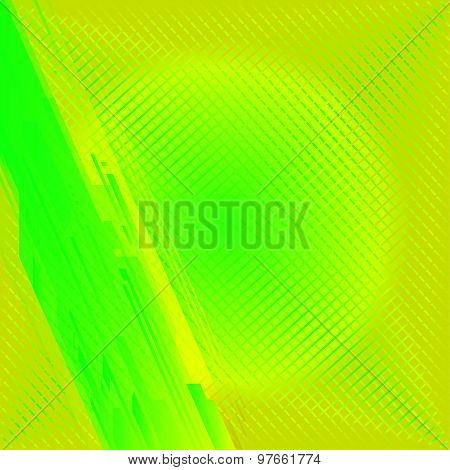 Green yellow technical background