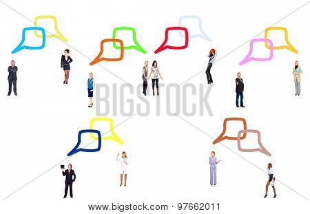 Business Picture Speech Bubbles