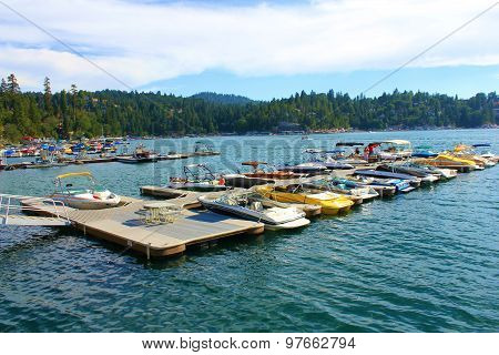 Lake Arrowhead Boats