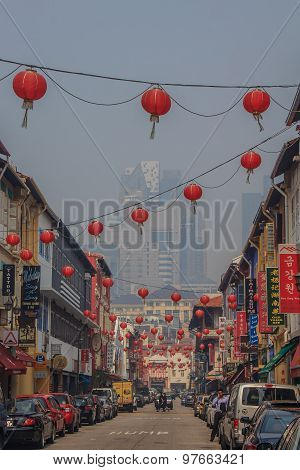 Famous Chinatown In Singapore